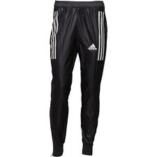 "adidas Adizero Shiny Nylon Wet Look Track Pants Black S13516 38"" Waist D8 Large"