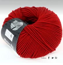 11€/100g  Lana Grossa - Cool Wool Big 50 g  Farbe  924 dunkelrot
