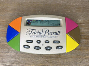 Trivial Pursuit Handheld Trivia Game Electronic Portable Pocket Travel 1997