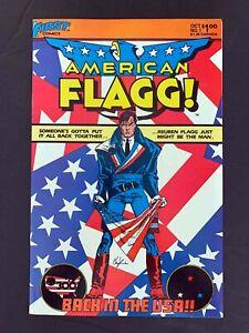 AMERICAN FLAGG #1  FIRST PUBLISHING COMICS 1983 VF+