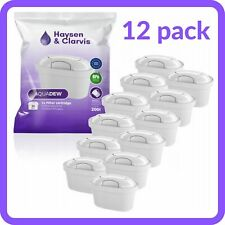 12 x Water Filter Cartridges Replacement fits BRITA Maxtra, BPA-free 12 PACK