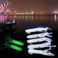 Luminous Squid Type Mackerel Feathers Bass Cod Lure Sea Fishing Rigs Tackle Boat