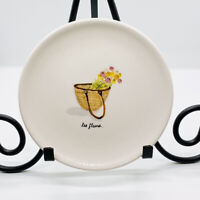 Les Fleurs Rae Dunn French Baskets By Magenta Appetizer Plate Artisan Collection
