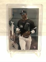 2020 TOPPS LUIS ROBERT RC ROOKIE COMPLETE SET PHOTO VARIATION RARE SP #392 🔥