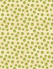 Wilmington The Way Home by Jennifer Pugh 82501 277 Tan Apples Cotton Fabric