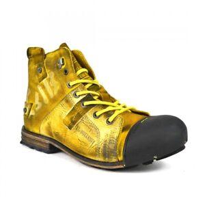 Yellow Cab INDUSTRIAL M Y15012 Leder Boots Herren Stiefel
