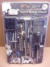 Brand New 16 Piece Professional Watch Repair Kit Complete Repair Set Great Kit!