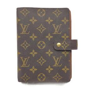 Louis Vuitton LV Diary Cover Agenda MMR20004 Browns Monogram 1523382