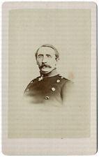 August Karl von Goeben, General d. Infanterie, frühe Original CdV um 1865