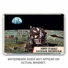 Rétro: Airfix-Apollo 11 Lunar Module Kit Box Art jumbo aimant de réfrigérateur