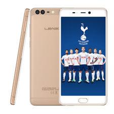 5,5'' 4G LTE Smartphone LEAGOO T5C 3+32GB Handy Android 7.0 Octa-Core 13MP Gold