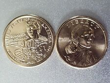 2020~P&D (2 Coins) ONE DOLLAR NATIVE AMERICAN  $1 COIN UNCIRCULATED MINT IN HAND