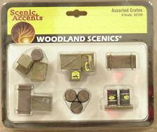 O scale CRATES Woodland Scenics Scenery Items # 2739