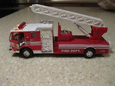 FIRE DEPT RESCUE ENGINE TRUCK LADDER HOSE SIGHT SOUND PULL BACK ACTION LIONEL