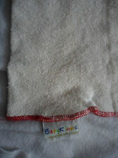"BabyKicks Natural Organic USA Hemp Cloth Diaper Insert Liner 14"" x 18"""