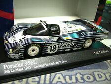 Porsche 956 L obermair #18 Boss Le Mans Décontracté Minichamps pma 1:43