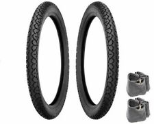 SHINKO SR704 MOPED TIRE TUBE PACKAGE 17x2.25 Motobecane Motomarina Sebring