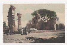 Ruinas de San Francisco Mendoza Argentina Vintage Postcard 445a