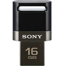 SONY USM-SA OTG 16GB 16G Micro USB / USB Flash Drive Smart Phone PC Memory BLACK