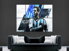 LIONEL MESSI POSTER ARGENTINA FOOTBALL LEGEND BARCELONA FC IMAGE WALL ART