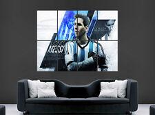 Cartel de Lionel Messi Argentina Barcelona FC Leyenda del Fútbol Imagen Pared Arte