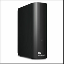 WD Elements Desktop External Hard Drive 8TB USB 3.0 - Black (WDBWLG0080HBK-NESN)
