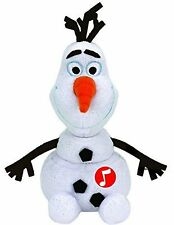 Disney Frozen Olaf TY Beanie With Laughing Sound