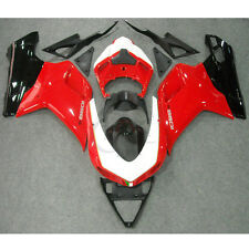 Red Black ABS Fairing Bodywork Kit For Ducati 1098 848 1198 2007-2012 Injection