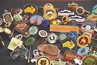 pins badges coins collection pin collection badge collection 60 + ITEMS BULK LOT