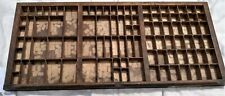 Vintage Letterpress Printers Tray / Wall Display