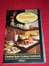 Osterizer Liquefier Blender Recipe & Instruction Booklet