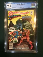 DC COMICS PRESENTS #47 1982 CGC 9.0 Newsstand Masters of the Universe 1st He-Man