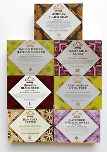 Nubian Heritage - Assorted Bar (7 Pack) Shea Butter Soaps 5oz  - as Shown