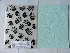 Embossing Folder  Baby Hands
