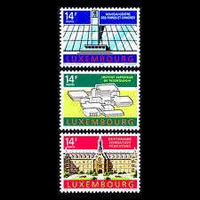 Luxembourg 1992 - Notable Buildings Architecture - Sc 863/5 MNH
