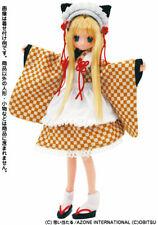 Azone Pure Neemo Kimono Maid Nekomimi Kawaii Doll Cosplay Dress Ruruko