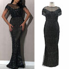 Womens Long Maxi Formal Dress Ladies Wedding Cocktail Evening Party Prom Dresses