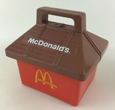 Playskool Vintage 1974 McDonalds Lunchbox Play Tote Happy Meal Box Carry Along