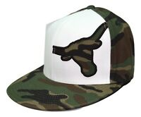 Texas Longhorns Top of the World Camouflage NCAA Grunt Flex Fit Cap Hat