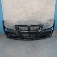 BMW 3 SERIES E90 E91 Front Bumper Trim Panel Complete Schwarz 2 Black II - 668