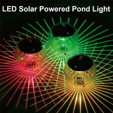 LED Disco Light Swimming Pool Waterproof Solar Power Multi Color Changing Water