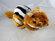 "Chipmunk 11"" Long Beanie Plush by Aurora Toys SOFT  AWESOME"