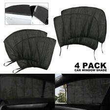 4Pcs Sun Shade Front Rear Window Screen Cover Sunshade Protector For Car
