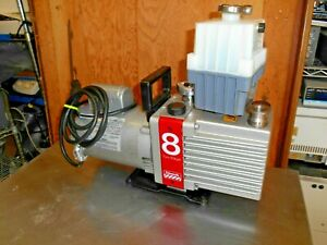 Edwards E2M8 High Vacuum Pump Model 8 Two Stage great condition
