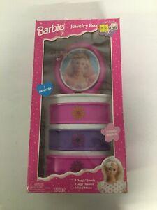 "Barbie For Girls ""Magic Jewels"" Jewelry Box vintage 1996 Mattel Rare find"