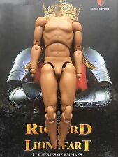 "COO Models Richard the Lionheart 12"" Nude Body loose 1/6th scale"