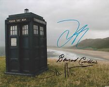 Steven Moffat, Daniel Mays + 1 HAND SIGNED 8x10 Photo, Autograph, Doctor Who