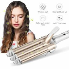 Electric Hair Curling Iron Triple Barrel Ceramic Curler Wave Waver  Styling Tool