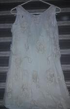 robe écru  10 ans floriane mousseline
