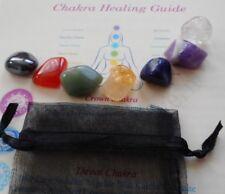 Chakra Healing Crystals 7 Reiki Stones Starter Set